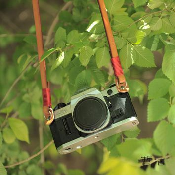 best leather camera neck straps products on wanelo