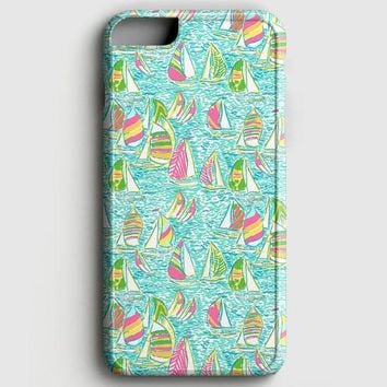 Lilly Pulitzer Sailboat iPhone 6 Plus/6S Plus Case | casescraft