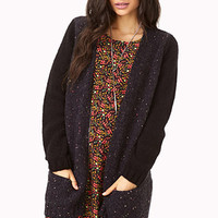 Standout Speckled Cardigan