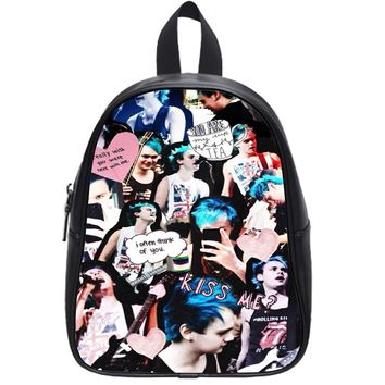 5 Second Of Summer Michael Clifford School Backpack Large