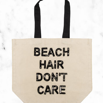 Beach Hair Don't Care Tote
