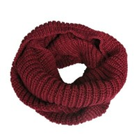 Wrapables® Soft Winter Warm Scarf - Burgundy