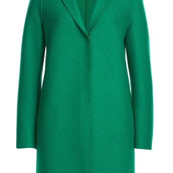 Virgin Wool Coat - Harris Wharf London | WOMEN | CA STYLEBOP.COM