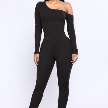 One Direction Jumpsuit - Black