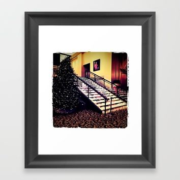 Holiday decor Framed Art Print by Jessica Ivy