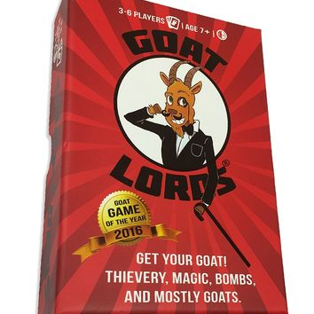 Goat Lords -- Hilarious and Competitive New Card Game