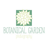 Instant Download Pre-Made Botanical Garden Logo Home Decor Nature Photography Plants Floral Flowers Craft Etsy Shop Branding Brand DIY