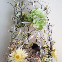 Grapevine Trees - Lighted Grapevine Tree, French Country Decor, Home Accents, Country Home Decor, Shabby Chic, Decorative Living, Home Décor