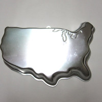 United States of America Wilton Cake Pan 1989 USA Mould Mold 2105-8251