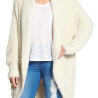 BB Dakota 'Edwin' Fuzzy Knit Cocoon Sweater | Nordstrom