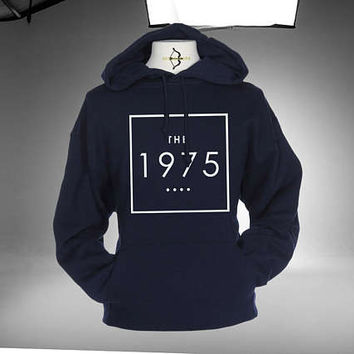 The 1975 Logo Hoodie Black, Maroon and Navy Color Unisex Hoodies