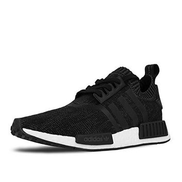 Womens NMD_R1 PK Nomad Runner Primeknit 'Winter Wool' Core Black White