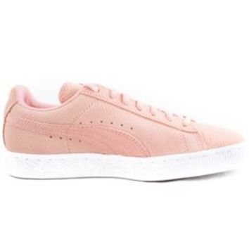Puma, Suede Classic Lo Winterized Women's Shoe - Pink - Women's Brands - MOOSE Limited