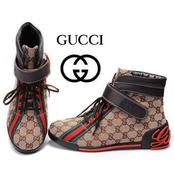 GUCCI Women Men Flats Sneakers Sport Shoes Boots Shoes