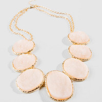 Stassi Drusy Statement Necklace
