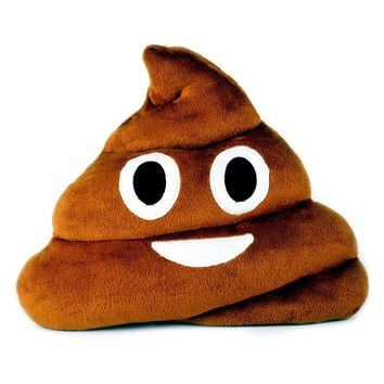 Emoji Poop Pillow