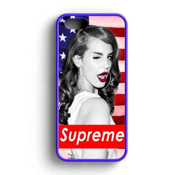 Lana Del Rey Supreme American iPhone 5 Case iPhone 5s Case iPhone 5c Case