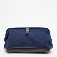BILLYKIRK / Buckled Dopp Kit in Navy