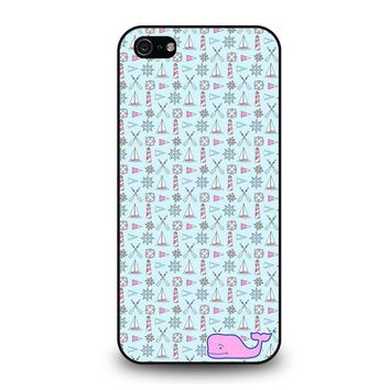 WHALE KATE SPADE PATTERN iPhone 5 / 5S / SE Case Cover