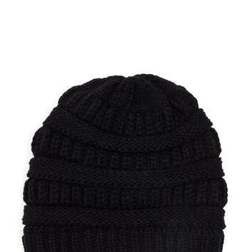 Best Hair Day Cable Knit Beanie