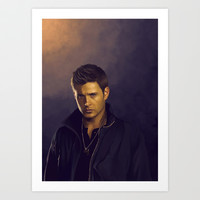 Dean Winchester - Supernatural Art Print by KanaHyde