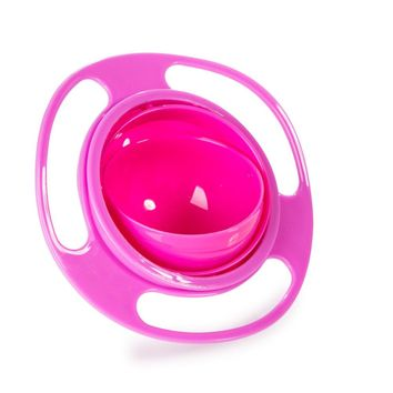 Gyroscope Kids Bowl Baby Feeding Toy Bowl Dishes Boy Girl Spill Proof Universal Rotate Technology Funny Gift Baby Accesories