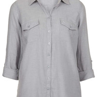 Casual Chambray Shirt - New In This Week - New In - Topshop USA