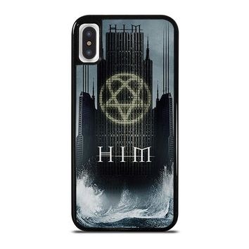 HIM BAND HEARTAGRAM iPhone X Case Cover