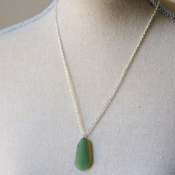 Green Quartz Necklace - Ready to Ship