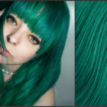 EMERALD GREEN Semi-Permanent Vegan Hair Dye 8 oz.