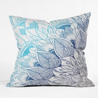 RosebudStudio Believing Outdoor Throw Pillow