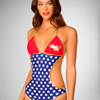 Wonder Woman Monokini Swimsuit