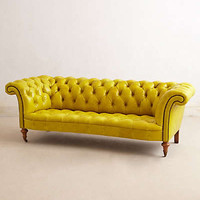 Anthropologie - Citrine Chesterfield Sofa