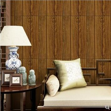 Sticky wallpaper from creative 3 d TV setting wall brick grain wallpaper put the sitting room the bedroom wall-679