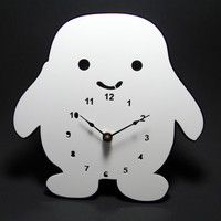 Adipose Clock by alantronics on Etsy