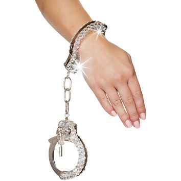 Bling Rhinestone Fetish Handcuffs