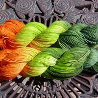 Oak Leaf Superwash Wool/Nylon Sock Yarn 400 yards 3.5 oz