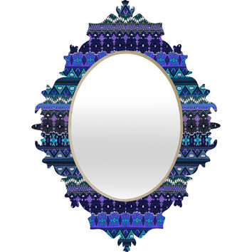 Sharon Turner Kilim Castellations Baroque Mirror