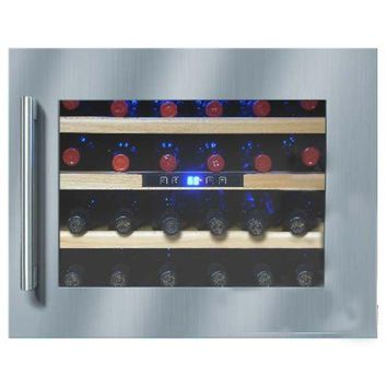 Vinotemp 24 Bottle Seamless Wall-Mounted Wine Cooler-Right Hinge