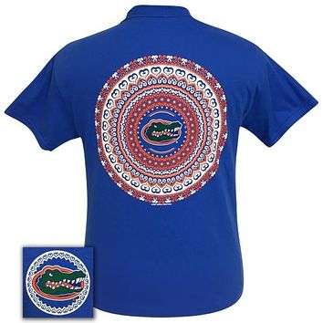 Florida Gators Preppy Mandala T-Shirt