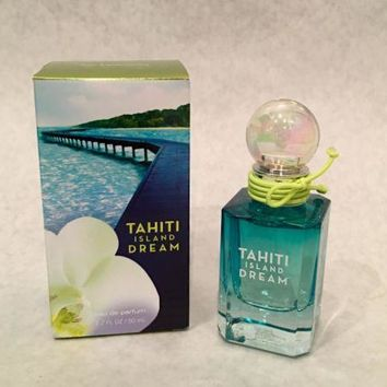 Bath Body Works Tahiti Island Dream Eau De Parfum Edp Perfume Spray Mist 1.7oz