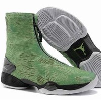 Cheap Air Jordan XX8 Retro Men Shoes Green Camo