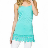 Crochet Shirt Extender- 2 Colors