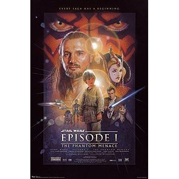 Star Wars - Episode I Poster 22 x 34in