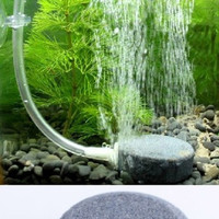 Hot Sale Air Bubble Disk Stone Aerator Aquarium Fish Tank Pond Pump Hydroponic Oxygen Dark Grey HG-0444 = 1706387780