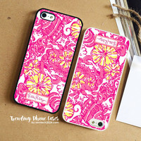 Happily Hope- Lilly Pulitzer iPhone Case Cover for iPhone 6 6 Plus 5s 5 5c 4s 4 Case
