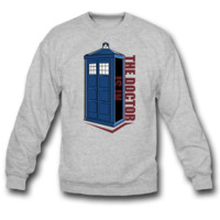 the doctor is in SWEATSHIRT CREWNECKS
