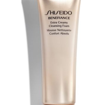 Shiseido Benefiance Extra Creamy Cleansing Foam | Nordstrom