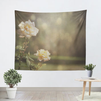 Ethereal Rose Tapestry