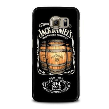 jack daniels samsung galaxy s6 case cover  number 1